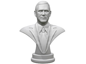 Mike Pence  in White Natural Versatile Plastic