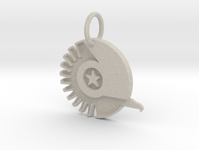 New Conglomerate Keychain in Natural Sandstone