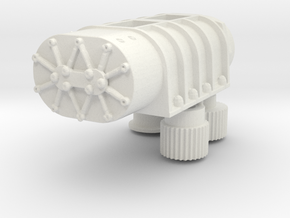 14-71 Blower 1/16 in White Strong & Flexible