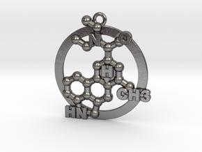 Lsd Molecule 001 in Polished Nickel Steel