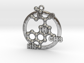 Lsd Molecule 001 in Natural Silver