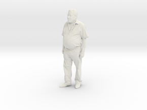 Printle C Homme 387 - 1/24 - wob in White Natural Versatile Plastic