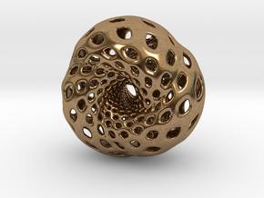 Tetrahedron Hopf preimage (edges) in Natural Brass
