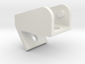 Light Cube Bracket for Jeep Wrangler JK in White Natural Versatile Plastic
