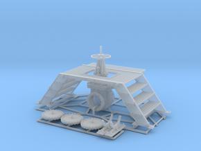 Pipeline Valve + Service Bridge + Covers in Smooth Fine Detail Plastic