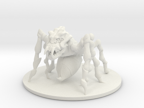 D&D_Min_Spider_Stinger in White Natural Versatile Plastic