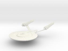 Dedication Class Refit BattleCruiser in White Strong & Flexible