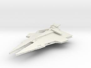 Republic Imperial Destroyer in White Natural Versatile Plastic