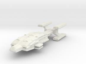 Hvy Destroyer in White Natural Versatile Plastic
