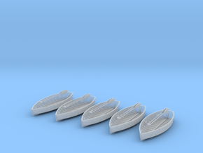 Oscale RowBoatpaddles V2 5ea in Smooth Fine Detail Plastic