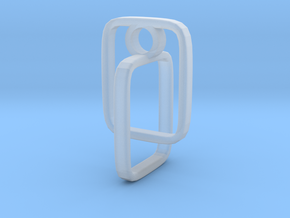Pendant 79 in Smooth Fine Detail Plastic