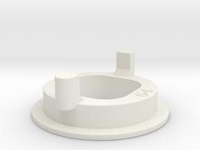 80% Width Gate for Sanwa JLF in White Natural Versatile Plastic