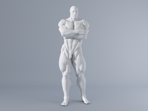 Mini Strong Man 1/64 006 in Frosted Ultra Detail: 1:64 - S