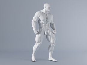 Mini Strong Man 1/64 028 in Smooth Fine Detail Plastic: 1:64 - S