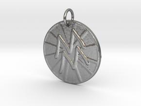 Aquarius Wheel by ~M. (Jan. 20 - Feb. 18) in Natural Silver