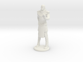 Apophis With Hand Device - 35 mm in White Natural Versatile Plastic