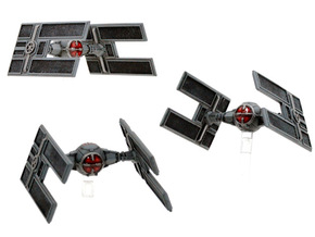TIE/D Automated Fighter 3-pack in Frosted Extreme Detail