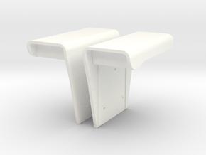 International IH Fenders in White Processed Versatile Plastic