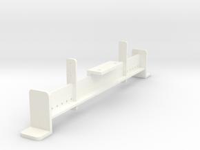 NASTYSTUFFBRACKET in White Processed Versatile Plastic