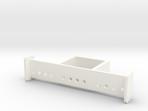SATISFACTION BRACKET in White Processed Versatile Plastic