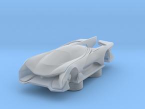FFZero1 - FaradayFuture [100-150mm] in Smooth Fine Detail Plastic