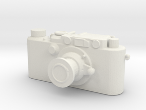Printle Thing Leica - 1/24 in White Natural Versatile Plastic