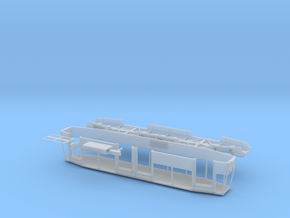 Tram Poland 105Na/805Na in Smooth Fine Detail Plastic