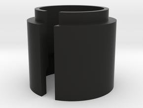 Quick Change Shock Spacer in Black Natural Versatile Plastic