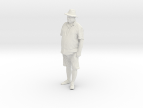 Printle C Homme 401 - 1/24 - wob in White Strong & Flexible