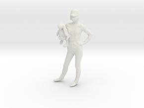 Printle C Femme034 - 1/64 - wob in White Natural Versatile Plastic