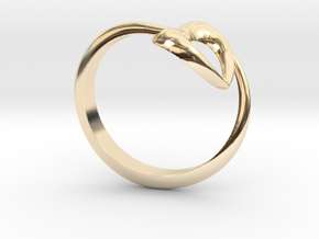 Show the love: Heart Ring in 14K Gold: 7 / 54