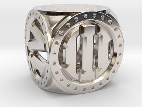 Imperium D6 in Platinum