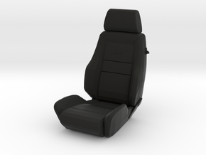Sport Seat RType 2 - 1/10 in Black Strong & Flexible
