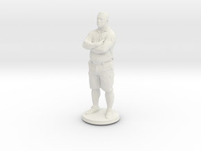Printle C Homme 407 - 1/24 in White Natural Versatile Plastic