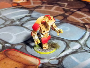 Cheese Golem in Frosted Ultra Detail