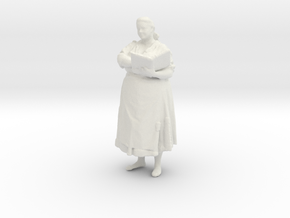 Printle C Femme 039 - 1/56 - wob in White Strong & Flexible