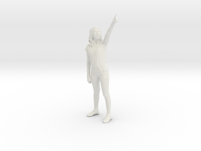 Printle C Femme 040 - 1/24 - wob in White Strong & Flexible