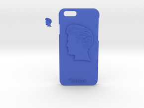 Rock Star Gift Case- iPhone6/6S with chain ring in Blue Processed Versatile Plastic