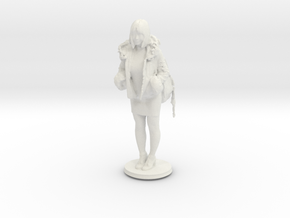 Printle C Femme 322 - 1/24  in White Strong & Flexible