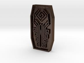 Cthulhu Token in Polished Bronze Steel