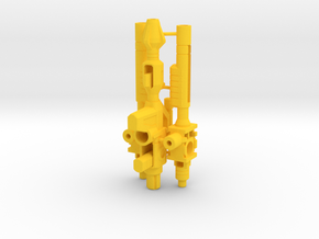 Excavator Weapons in Yellow Processed Versatile Plastic