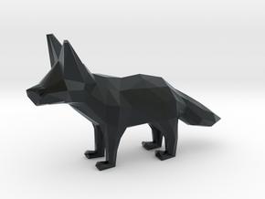 Fennec Fox in Black Hi-Def Acrylate