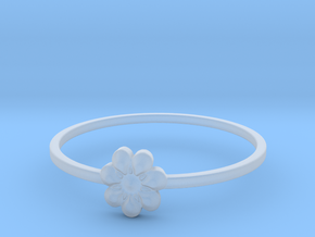 Blooming Flower (size 4-13) in Smooth Fine Detail Plastic: 4 / 46.5