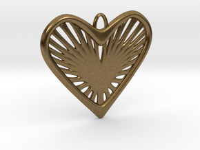 Heart Strings in Natural Bronze