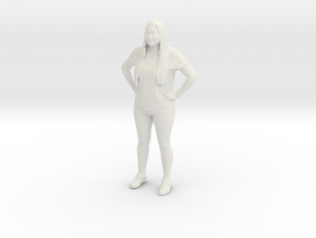 Printle C  Femme 043 - 1/32 - wob in White Strong & Flexible