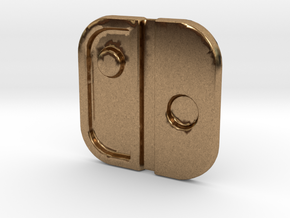 Switch Logo: Version 2 in Natural Brass
