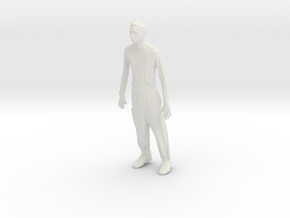 Printle C Homme 418 - 1/24 - wob in White Strong & Flexible