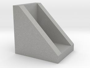 Corner for connect 2020 aluminium profiles in Aluminum