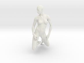 Printle V Femme 347 - 1/24 - wob in White Natural Versatile Plastic