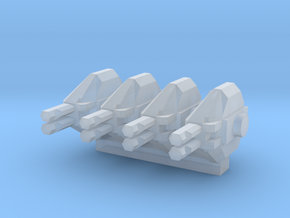 Colonial Marine APC 1 To 285 Extra Turrets V2 4 Tu in Smooth Fine Detail Plastic